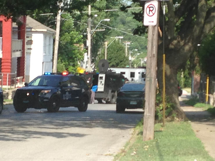 standoff arrest