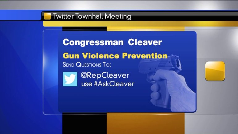 There will be a townhall meeting on Twitter Thursday night to discuss gun violence prevention.