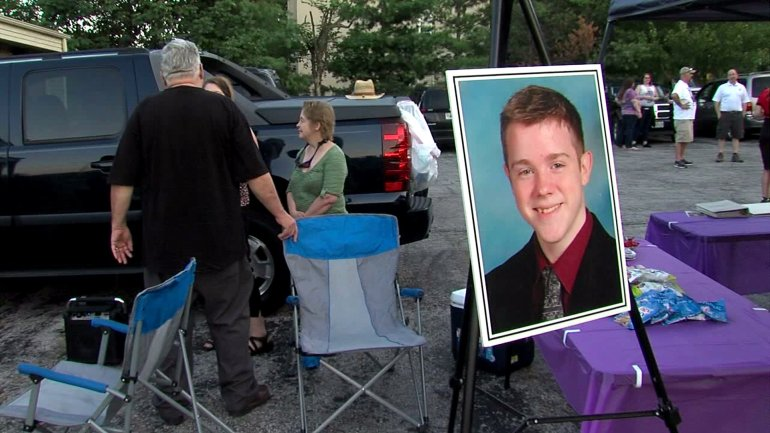Corey Laykovich was stabbed to death while walking home from an Independence convenience store in July 2013.