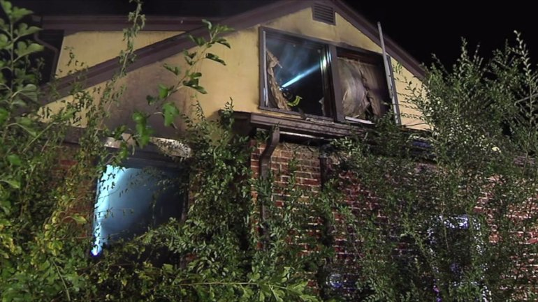 Burning incense appears to have caused significant damage to a Merriam, Kan., home Wednesday.