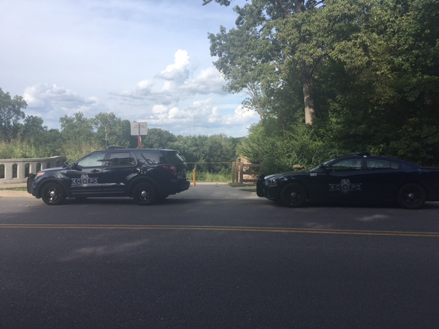 An investigation is underway after a body was found near Bannister and Lydia.