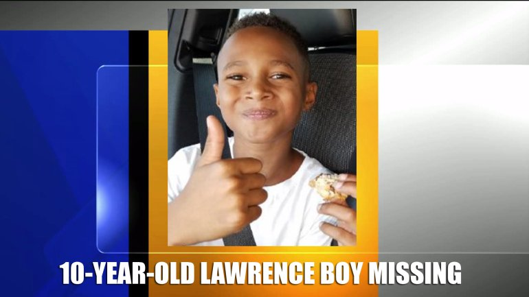 Lawrence, Kan., police are searching for 10-year-old Johnnie Williams who went missing Tues., August 16 between 8 and 10:15 a.m.