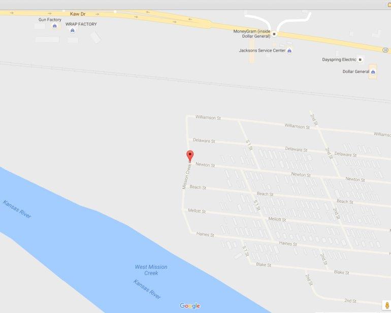 Google map in Edwardsville