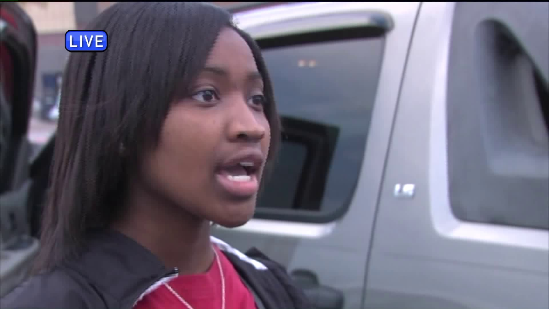 Quisha Hill says she's thankful for the people who stepped in to help save her baby.