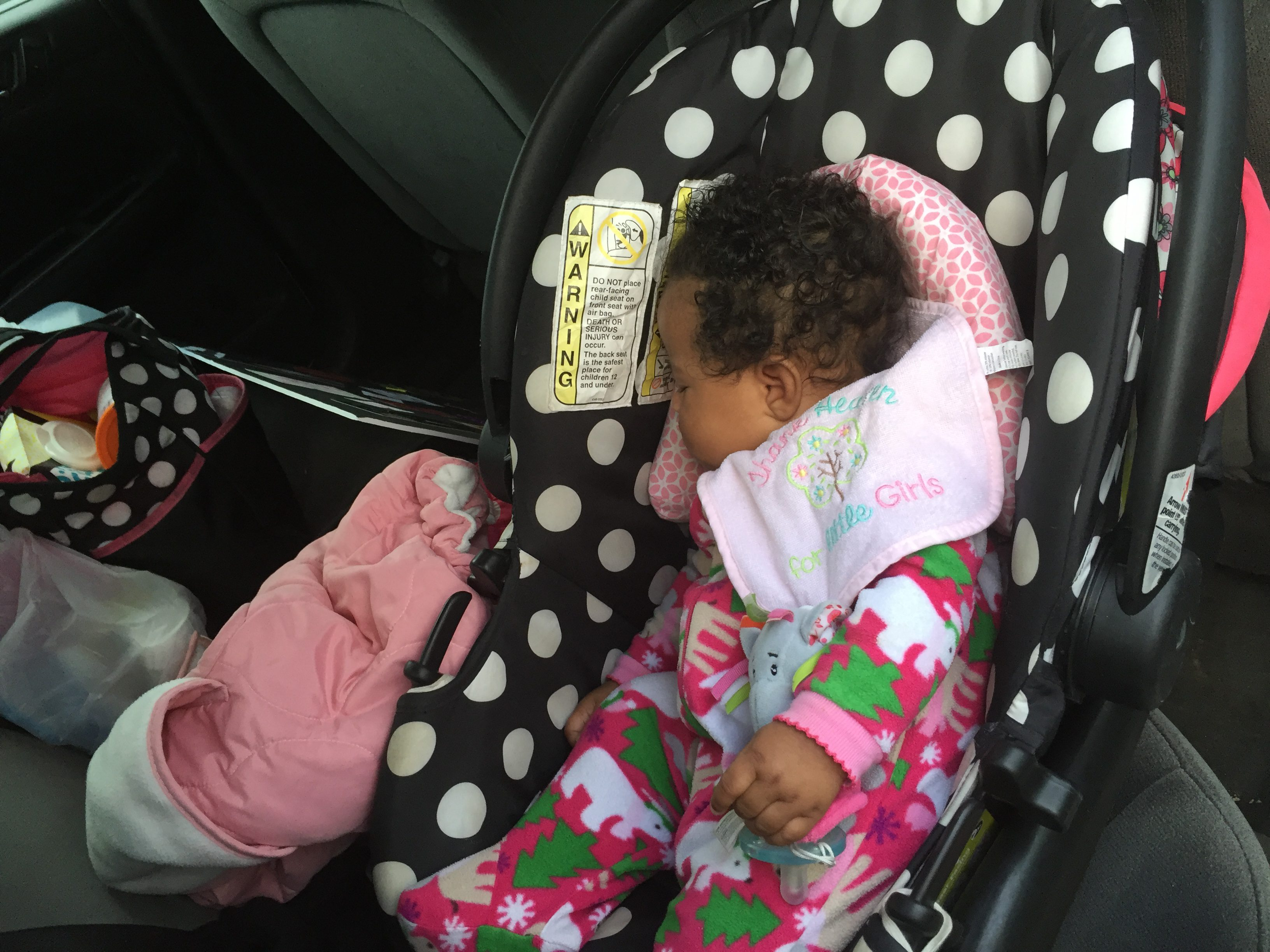 Police say a stranger tried to choke this 4-month-old at Walmart Wednesday morning.