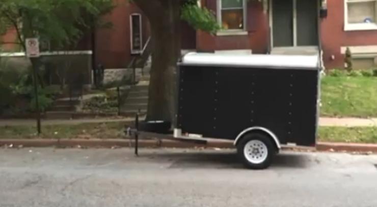 The stolen trailer
