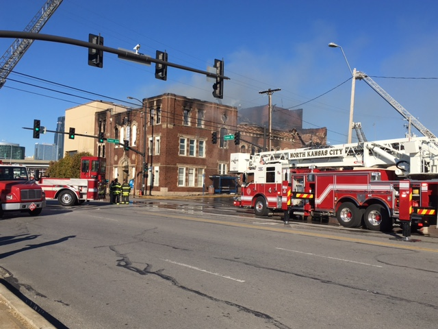 The Evangelistic Center Church caught fire Sunday.