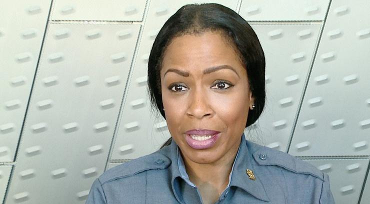 Kari Thompson with the Kansas City Police Department.