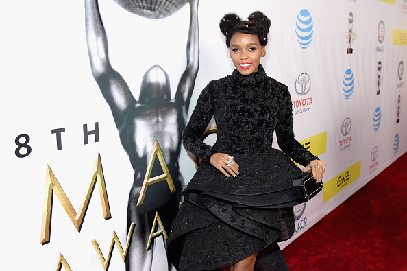 PASADENA, CA - FEBRUARY 11: Actress Janelle Monae attends the 48th NAACP Image Awards at Pasadena Civic Auditorium on February 11, 2017 in Pasadena, California. (Photo by Marcus Ingram/Getty Images for NAACP Image Awards)