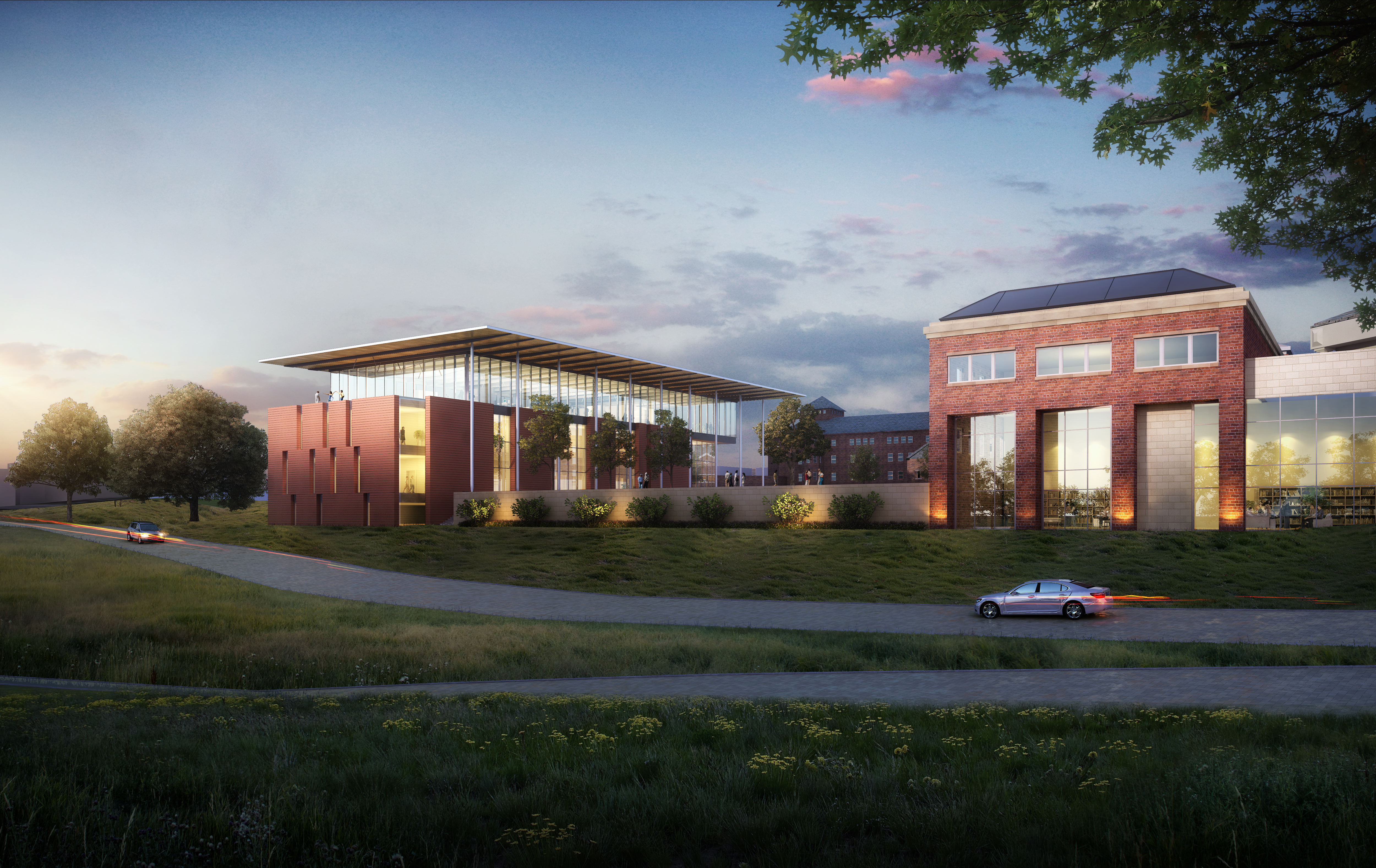 A look at the proposed surgical center (Image courtesy of KCUMB).