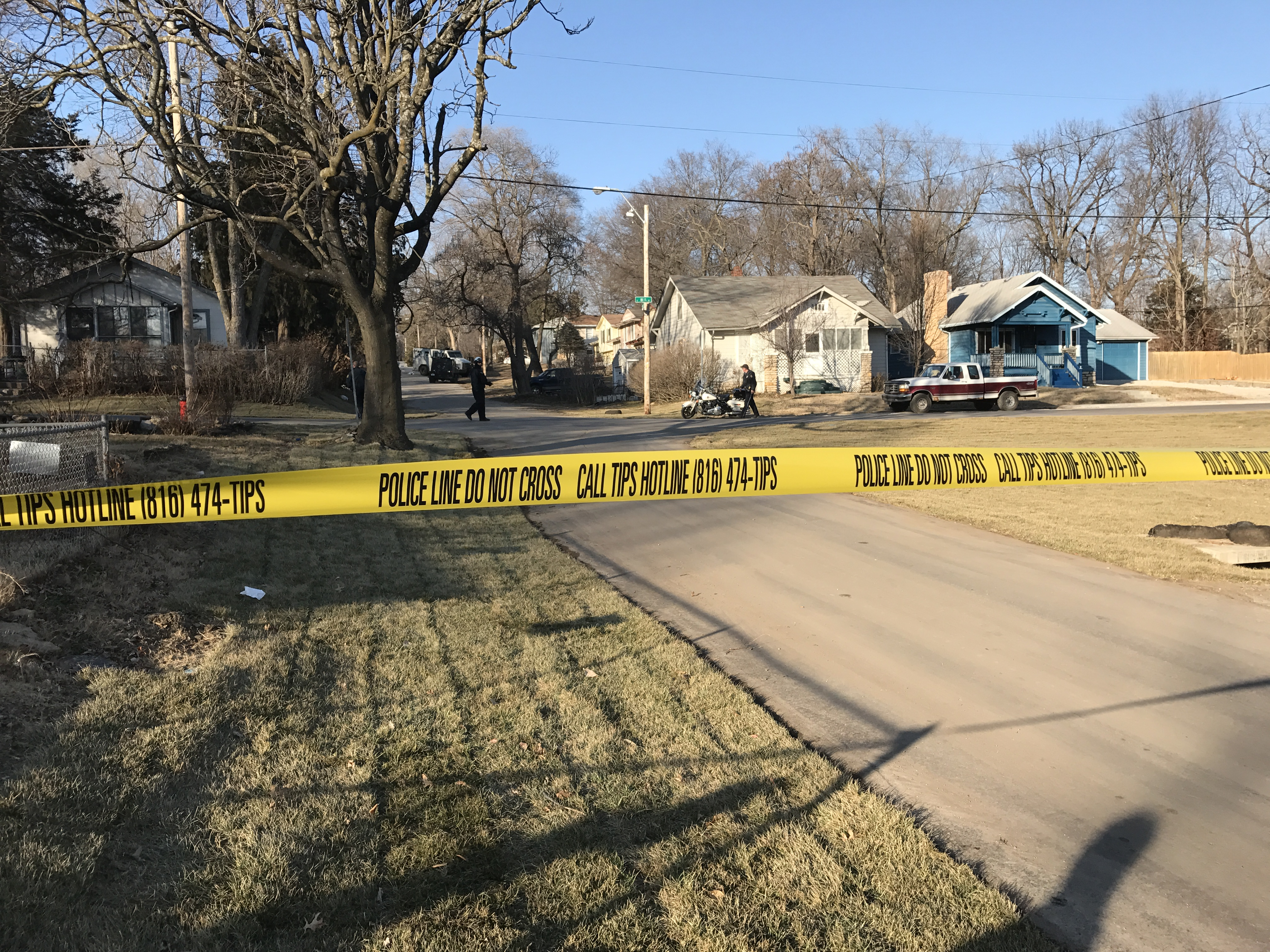 A suspect in a standoff was fatally shot by officers on Saturday.