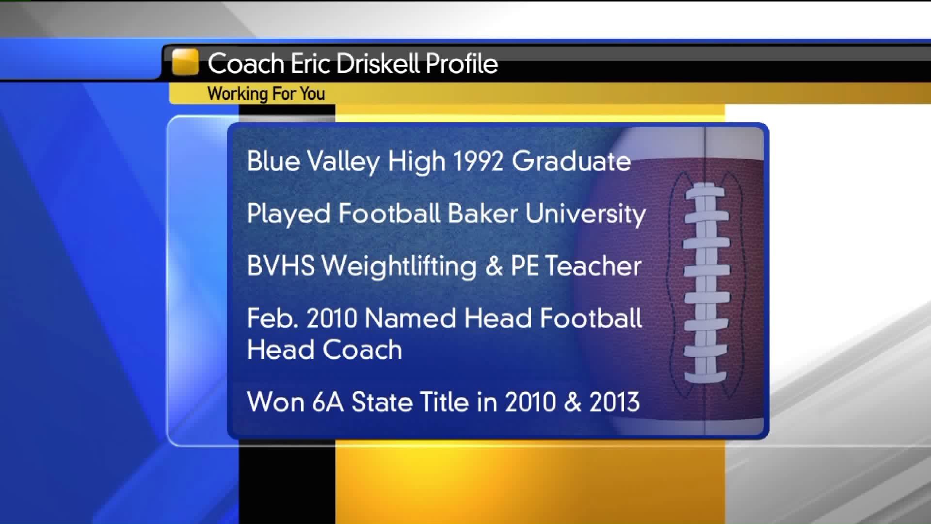 Coach Eric Driskell