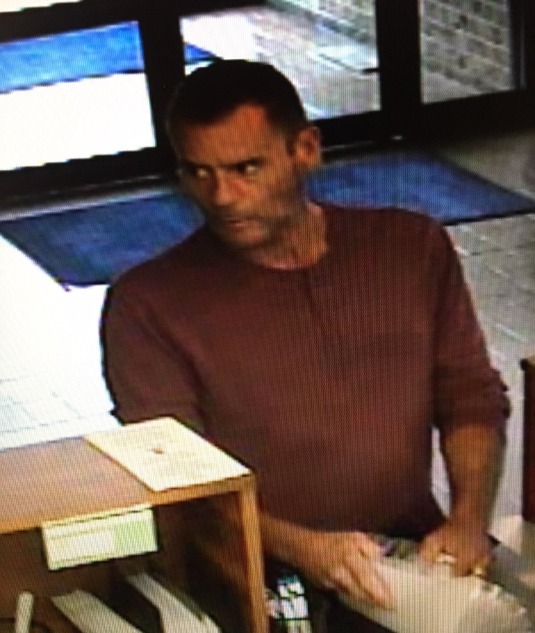 Picture of robbery suspect