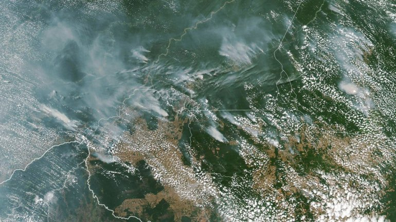 Picture of Amazon fires
