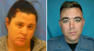 pictures of Tammy Widger and Officer Morton