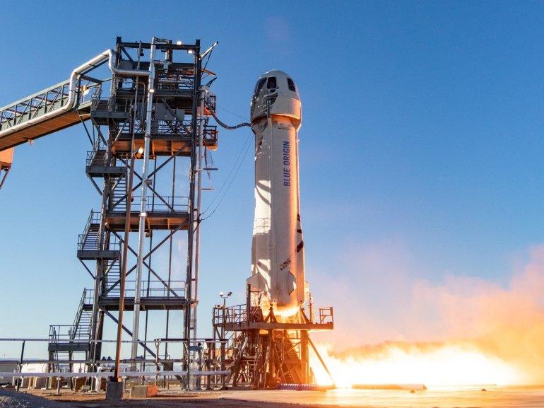 Blue Origin rocket picture