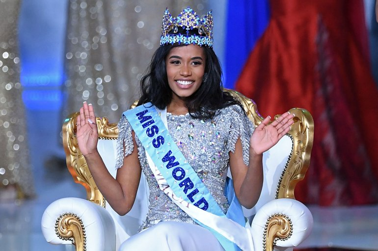 Picture of Miss Jamaica, Miss World 2019