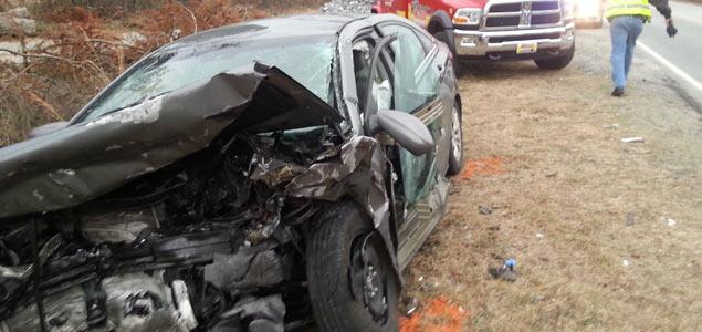 US 220 accident Summerfield big