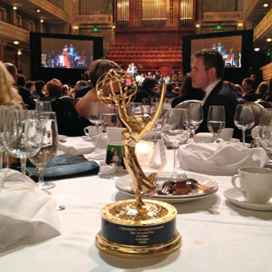 "Brad Jones' Emmy for the PSA Spot ""Taps Memorial Day."""