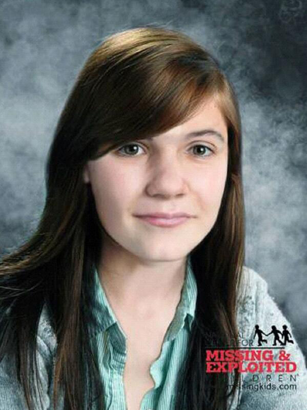 Erica Parsons age progression photo (Credit: National Center for Missing and Exploited Children)