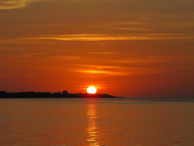 Sunset Pamlico Sound
