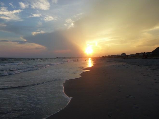 Oak Island Sunset