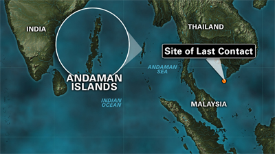 Indian search teams are combing large areas of the Andaman and Nicobar Islands, a remote archipelago in the northeast Indian Ocean.