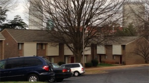 Apartment on Highland Avenue in Winston-Salem where two toddlers were found in horrible conditions. (WGHP)