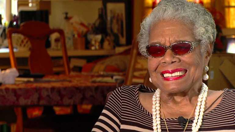 Dr. Maya Angelou during a Dec. 2013 interview (WGHP)