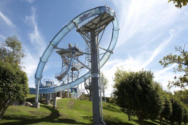 World's scariest, best water slides - Aqualoop