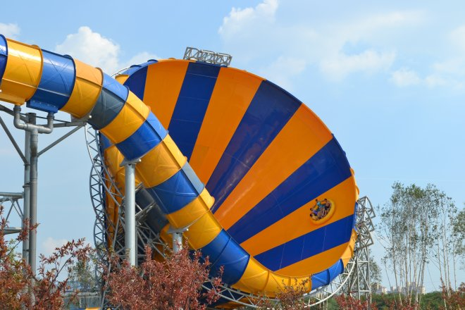 World's scariest, best water slides -- The Abyss