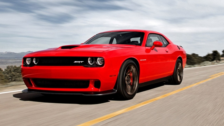 Dodge Challenger with Hellcat V8 engine