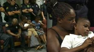 NC family saved from burning home reunites with rescuers