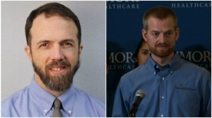 Dr. Rick Sacra and Dr. Kent Brantly.