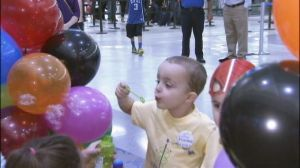 3-year-old Jace is headed to Disney World.