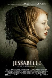 "The movie poster for ""Jessabelle."""
