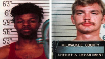 Christopher Scarver, left, and Jeffrey Dahmer, right, were fellow prison inmates at the time of Dahmer's death in 1994.