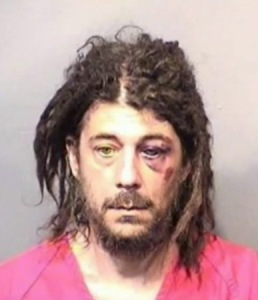 Kenneth Crowder, 41, of Melbourne, Fla., was believed to be high on the flakka when he attacked a police officer after claiming he was God and performing a lewd act on a tree.