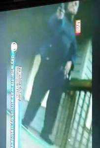 A screenshot of the suspect (WDBJ)