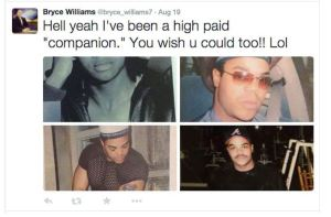"""Posted on the Twitter account of """"Bryce Williams"""" just days before the shooting"""