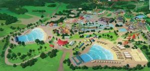 Carolina Harbor Water Park (rendering courtesy Carowinds)