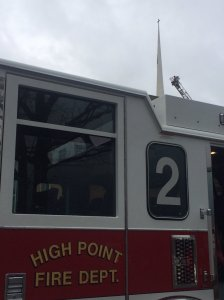 High Point Fire Department truck