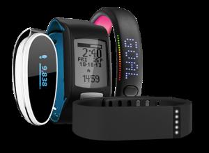 Fitness Trackers/ Courtesy of Squaretrade.com