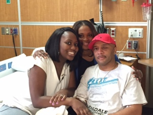 His wife Renita Couch, his cousin Tonoa Jones and Cpl. Derrick Couch