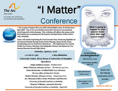 I Matter Conference