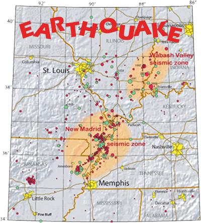 Earthquake New Madrid