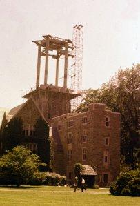 Halliburton Tower_construction_ May 1962