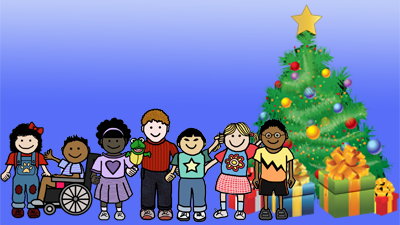 children-with-christmas-tree-and-presents