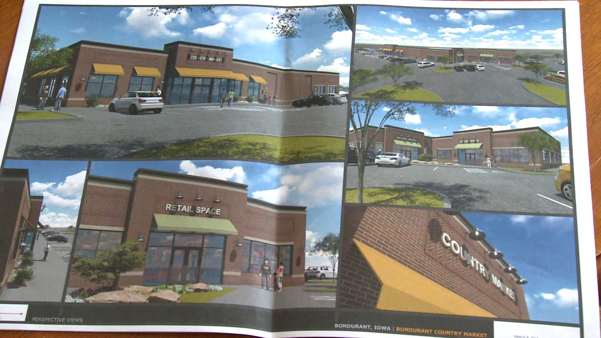 The plans for what the store will look like