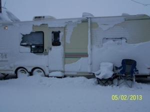 Snow Camper